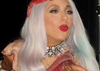 Lady Gaga dip dye