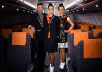 Easyjet high-tech uniforms