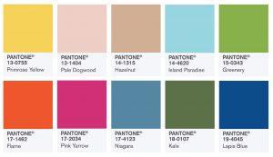 Pantone farver SS 2017
