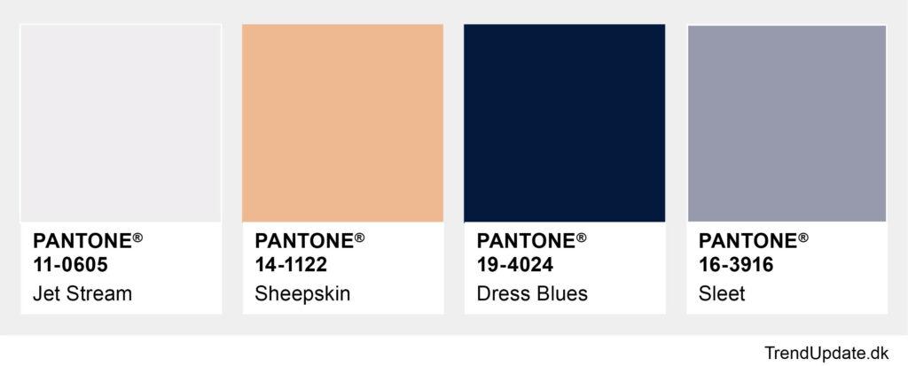 Modefarver efterår 2020