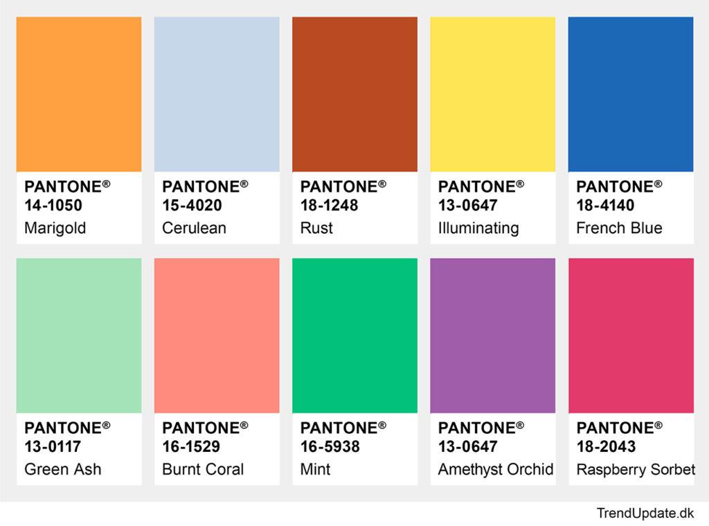 Fashion colors ss 2021
